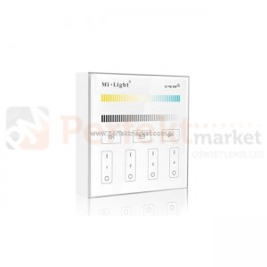 Mi Light panel B2 4 strefowy dotykowy CCT WW/CW
