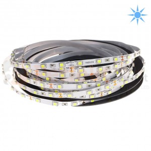 Taśma LED 5 mm 60 SMD 3528 IP20 Zimna 1m